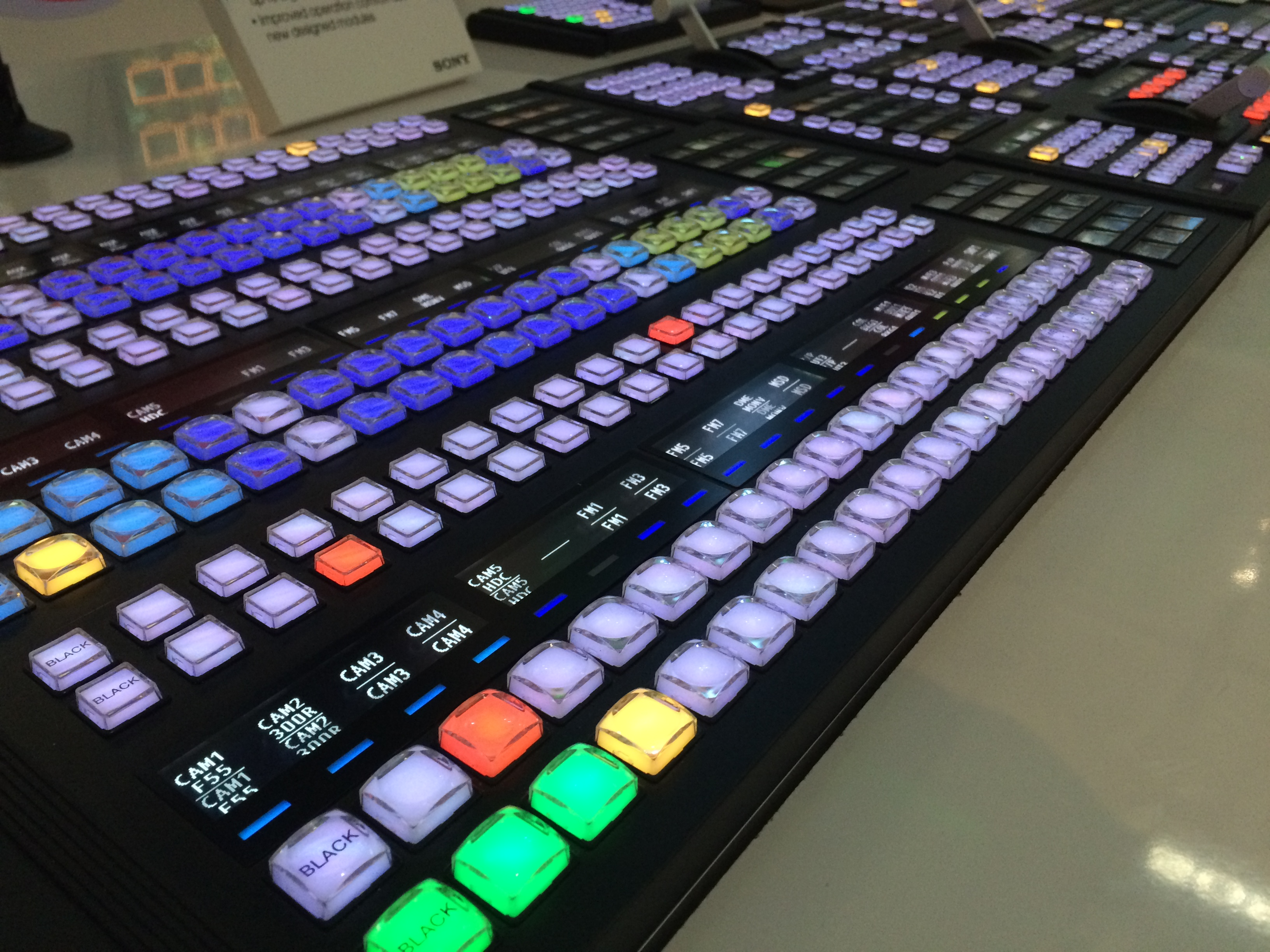 Sony Production Switchers at IBC 2013 for Visionmixers.tv - YouTube
